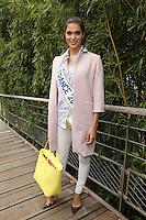 Iris Mittenaere (Miss France 2016 ) seen at 'Le Village de Roland Garros' during Roland Garros tennis open 2016 in Paris on June 05 2016.