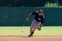 Baseball - MLB Academy - Tirrenia (Italy) - 19/08/2009 - Mirko Caradonna (Italy)