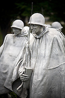 Washington DC Korean War Veterans Memorial