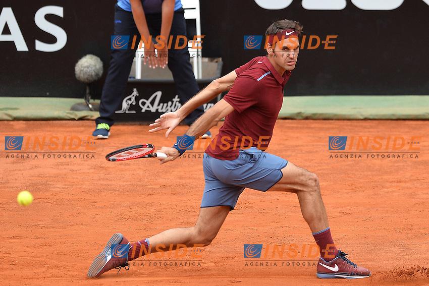 Roger Federer (SUI)<br /> Roma 11-05-2016  Foro Italico<br /> Internazionali BNL d'Italia, <br /> Tennis ATP<br /> Foto Antonietta Baldassarre / Insidefoto