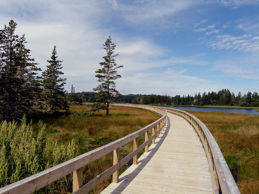 Boardwalk in Nova Scotia