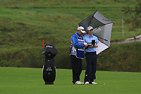 Gavin Moynihan (IRL) on the 1st fairway during Round 4 of the Amundi Open de France 2019 at Le Golf National, Versailles, France 20/10/2019.<br /> Picture Thos Caffrey / Golffile.ie<br /> <br /> All photo usage must carry mandatory copyright credit (© Golffile | Thos Caffrey)