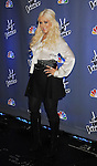 "CULVER CITY, CA - OCTOBER 28: Christina Aguilera at the ""The Voice"" Press Junket at Sony Pictures Studios on October 28, 2011 in Culver City, California."