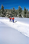 Colorado: Cross Country Skiing, Beaver Creek, model released, Photo: cocros104   .Photo Copyright: Lee Foster, (510) 549-2202, lee@fostertravel.com, www.fostertravel.com
