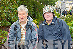 Pictured at the launch of the walk following the steps of St. Brendan the Navigator from St. John's Church, Tralee on Saturday, from left: Pat Moriarty and Bernie Boyle..