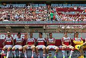 01.08.2015. Cologne, Germany. Pre Season Tournament. Colonia Cup. FC Cologne versus Stoke City.  FC Cologne substitues.