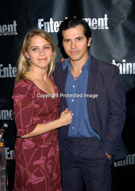 8026 John Leguizamo and wife Justine.jpg | Robin Platzer ...