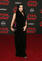 LOS ANGELES, CA - DECEMBER 9: Dita Von Teese at the World Premiere of Lucasfilm's Star Wars: The Last Jedi at The Shrine Auditorium in Los Angeles, California on December 9, 2017.  Credit: Faye Sadou/MediaPunch /NortePhoto.com NORTEPHOTOMEXICO