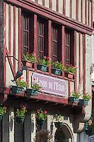 France, Manche (50), Cotentin, Villedieu les Poêles:  Maison de l'Etain // France, Manche, Cotentin,Villedieu les Poeles:  Maison de l'Etain