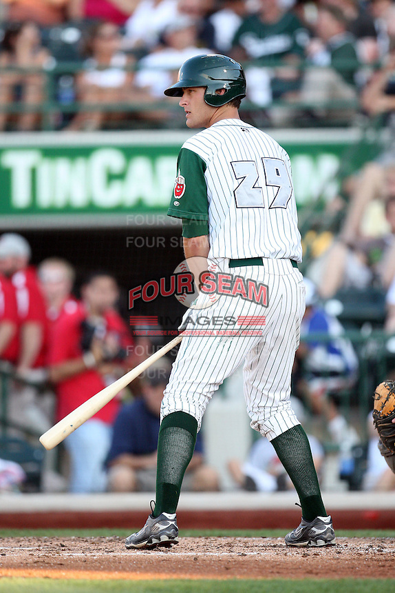 Fort Wayne TinCaps Nate Freiman during the Midwest League All Star Game at Parkview Field in Fort Wayne, IN. June 22, 2010. Photo By Chris Proctor/Four Seam Images