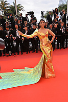"CANNES, FRANCE. May 19, 2019: Aishwarya Rai at the gala premiere for ""A Hidden Life"" at the Festival de Cannes.<br /> Picture: Paul Smith / Featureflash"