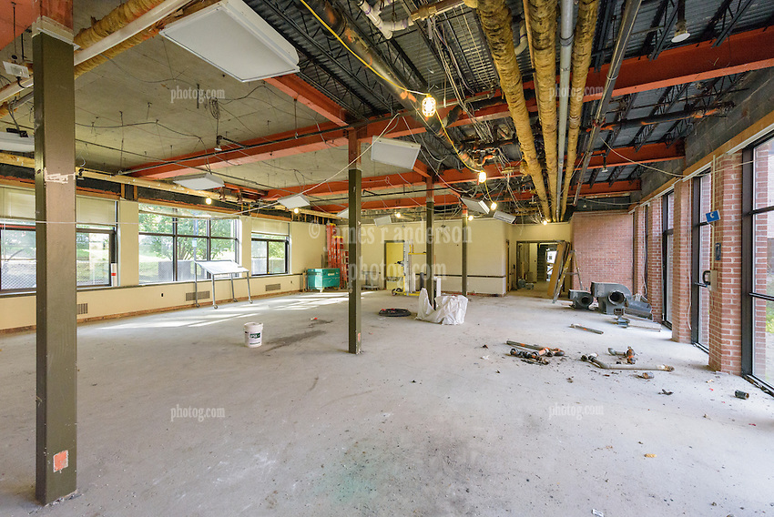 Major Renovation Litchfield Hall WCSU Danbury CT<br /> Connecticut State Project No: CF-RD-275<br /> Architect: OakPark Architects LLC  Contractor: Nosal Builders<br /> James R Anderson Photography New Haven CT photog.com<br /> Date of Photograph: 26 September 2016<br /> Camera View: 30