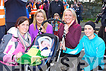 Paudie O'Mahony daughter Roisin his grandson Daithi Coughlan, nieces Meave and Aoife Hanley and friend Grainne Kane who all supported Paudie at the OT walk in Killarney on Saturday
