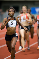 EUGENE, OR--Melanie Hardy competes in the 800 meters during the Steve Prefontaine Classic, Hayward Field, Eugene, OR. SUNDAY, JUNE 10, 2007. PHOTO © 2007 DON FERIA