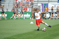Boyds, MD - Saturday August 12, 2017:Half-time mini games  during a regular season National Women's Soccer League (NWSL) match between the Washington Spirit and The Boston Breakers at Maureen Hendricks Field, Maryland SoccerPlex.