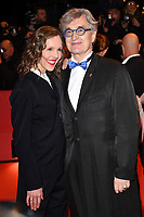 BERLIN, GERMANY - FEBRUARY 7: German filmmaker Wim Wenders and his wife Donata Wenders attend The Kindness Of Strangers premiere and Opening Night Gala of the 69th Berlinale International Film Festival Berlin at the Berlinale Palace on February 7, 2018 in Berlin, Germany.<br /> CAP/BEL<br /> ©BEL/Capital Pictures