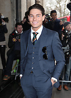 Joey Essex arriving for the TRIC Awards 2014, at Grosvenor House Hotel, London. 11/03/2014 Picture by: Alexandra Glen / Featureflash