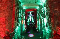 ZIPAQUIRA-COLOMBIA-29-12-2012.Catedral de sal Zipaquirá,Colombia.Salt Cathedral in Zipaquira,Colombia.Photo: VizzorImage/Felipe Caicedo.