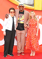 Billie Jean King, Samuel L. Jackson and Holly Hunter at the &quot;Incredibles 2&quot; UK film premiere, BFI Southbank, Belvedere Road, London, England, UK, on Sunday 08 July 2018.<br /> CAP/CAN<br /> &copy;CAN/Capital Pictures