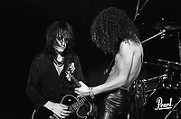 Guns and Roses performing at the UIC Pavillion in Chicago, Illinois. November 1987 <br /> CAP/MPI/GA<br /> &copy;GA/MPI/Capital Pictures
