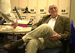 Dick Kraus seen in the Photo Dept office at Newsday on March 1, 2002. Photo by Jim Peppler