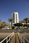 Israel, The Red Sea. Princess hotel in Eilat