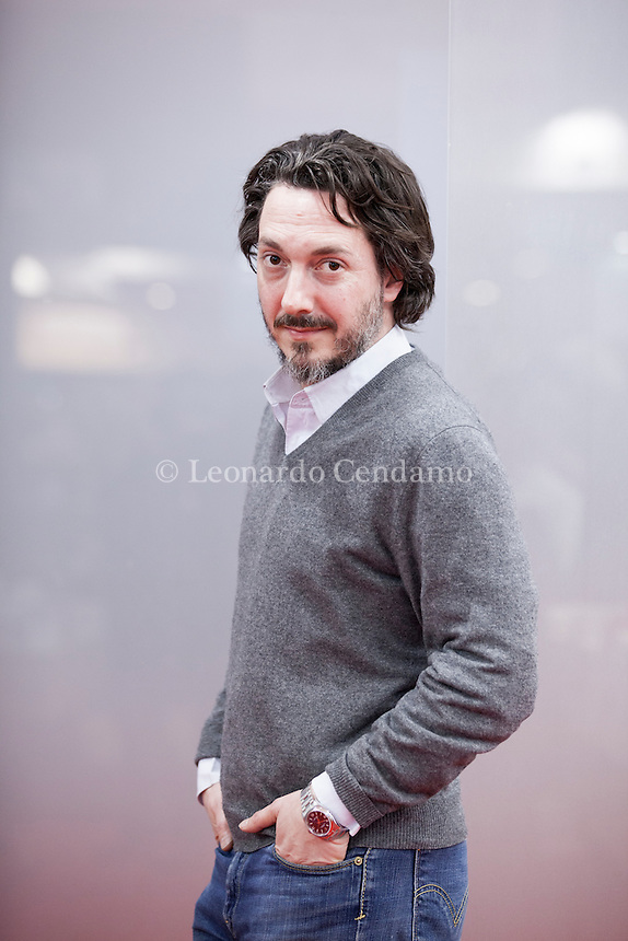 Guillaume Gallienne (born 8 February 1972) is a French actor, screenwriter and film director. He has received two Molière Awards for his stagework and has won two César Awards, one for writing and the other for his performance in his autobiographical comedy film Me, Myself and Mum (2013). Paris, Salon du Livre 2015. © Leonardo Cendamo
