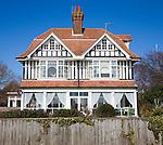 Edwardian style homes, Hamilton Gardens, Felixstowe, Suffolk, England
