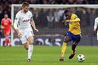 Blaise Matuidi of Juventus and Eric Dier of Tottenham Hotspur during Tottenham Hotspur vs Juventus, UEFA Champions League Football at Wembley Stadium on 7th March 2018
