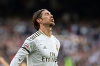 Real Madrid´s Sergio Ramos during La Liga match. February 1, 2020. <br /> (ALTERPHOTOS/David Jar)<br /> 01/02/2020 <br /> Liga Spagna 2019/2020 <br /> Real Madrid - Atletico Madrid  <br /> Foto Alterphotos / Insidefoto <br /> ITALY ONLY