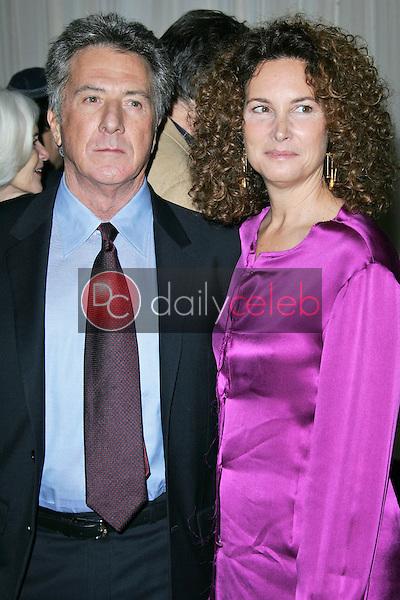 Dustin Hoffman and wife Lisa