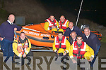CREW: The crew of the Baiilyheigue in Shore Rescue, who launched their race night at Ballyheigue Pier, on Monday evening in which their race night to raise fund for the Ballyheiguein Shore Rescue will be on Saturday 23rd October,in Flahives  Bar, Ballyheigue at the launch were, Kevin Faye, Sean Reiody, Shane O'Halloran, Brendan Hehir, Joe Moriarty, Chris Treanor,Bernard Hehir(chairman), Ger Fitzgerald and Sean Lucid. ....... ..........