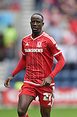 09/08/2015 Sky Bet League Championship Preston North End v Middlesbrough <br /> Albert Adomah, Middlesbrough FC