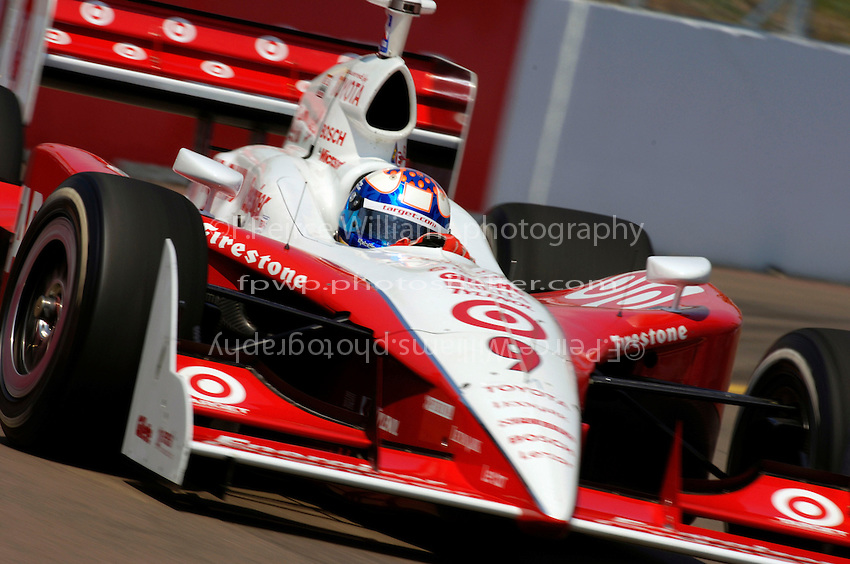 Grand Prix of St. Petersburg, 3 April, 2005.Scott Dixon.Copyright©F.Peirce Williams 2005.  ref.Digital Image Only