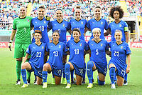 Italy Team<br /> Palermo 08-10-2019 Stadio Renzo Barbera <br /> UEFA Women's European Championship 2021 qualifier group B match between Italia and Bosnia-Herzegovina.<br /> Photo Carmelo Imbesi / Insidefoto