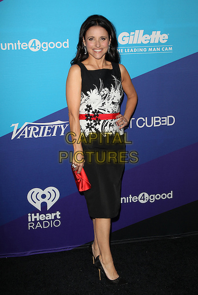 Los Angeles, CA - FEBRUARY 27: Julia Louis-Dreyfus Attending Unite4good And Variety Host 1st Annual Unite4:humanity Event, Held at Sony Pictures Studios California on February 27, 2014.  <br /> CAP/MPI/RTNUPA <br /> &copy;RTNUPA/MediaPunch/Capital Pictures