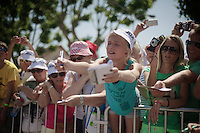 wanting an autograph<br /> <br /> Tour de France 2013<br /> stage 16: Vaison-la-Romaine to Gap, 168km