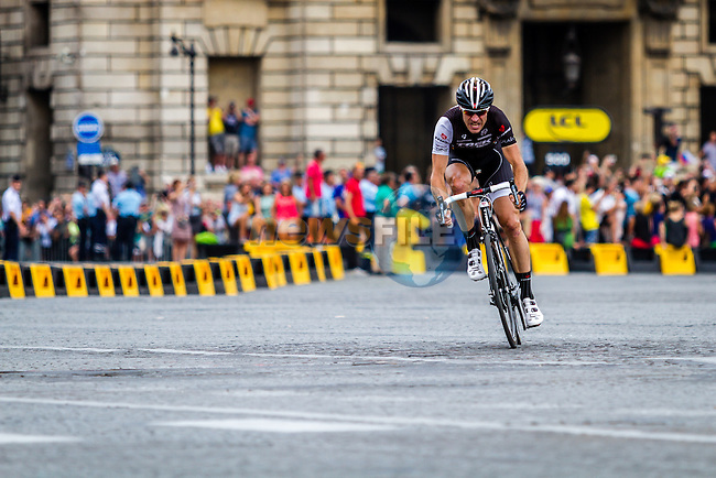 Jens Voight, Trek Facotry Racing, Tour de France, Stage 21: Évry > Paris Champs-Élysées, UCI WorldTour, 2.UWT, Paris Champs-Élysées, France, 27th July 2014, Photo by Thomas van Bracht