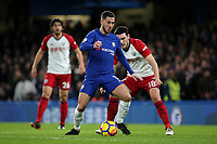 Eden Hazard of Chelsea in action during Chelsea vs West Bromwich Albion, Premier League Football at Stamford Bridge on 12th February 2018
