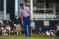 Carlos Ortiz (MEX) watches his putt on 18 during round 4 of the 2019 Houston Open, Golf Club of Houston, Houston, Texas, USA. 10/13/2019.<br /> Picture Ken Murray / Golffile.ie<br /> <br /> All photo usage must carry mandatory copyright credit (© Golffile | Ken Murray)