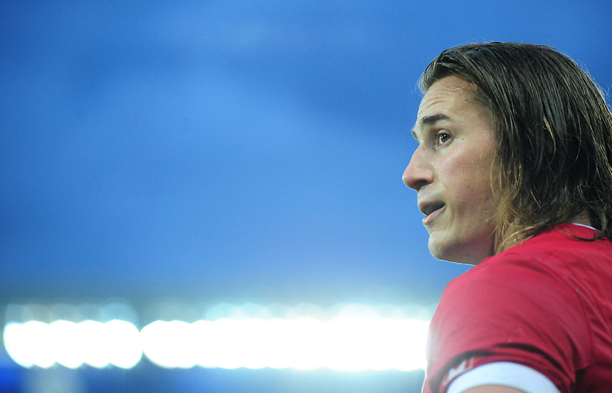 Canada's Jeff Hassler<br /> <br /> Photographer Chris Vaughan/CameraSport<br /> <br /> Rugby Union - 2015 Rugby World Cup Pool D - Canada v Romania - Tuesday 6th October 2015 - King Power Stadium, Leicester <br /> <br /> &copy; CameraSport - 43 Linden Ave. Countesthorpe. Leicester. England. LE8 5PG - Tel: +44 (0) 116 277 4147 - admin@camerasport.com - www.camerasport.com