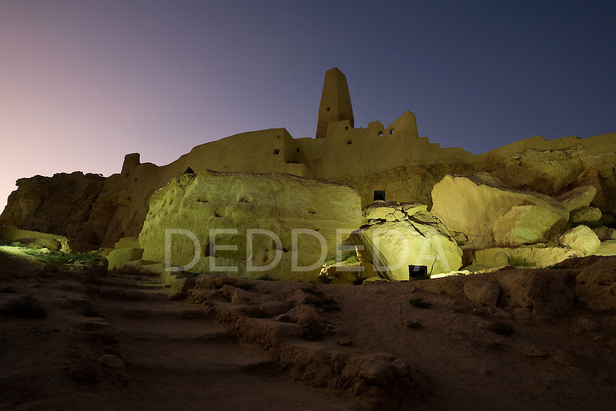 The Temple of the Oracle, dedicated to Amun, built in the 6th century BC, is one of the most revered oracles in the ancient Mediterranean. The Temple sits in the ruins of Aghurmi village in the Siwa Oasis, Egypt. Alexander the Great consulted the priests of Amun at the Temple of the Oracle in 331 BC.