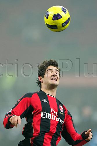01.02.2011 Alexandre Pato (Milan),  Football : Italian Serie A 2010-2011, match between  A.C. Milan (0-0) S.S. Lazio at San Siro Meazza Stadium, Milan, Italy,