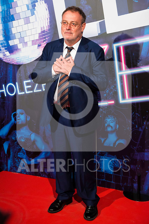 Pablo Carbonell attends to the premiere of the The Hole Zero Show at Teatro Calderon in Madrid. October 04, 2016. (ALTERPHOTOS/Borja B.Hojas)