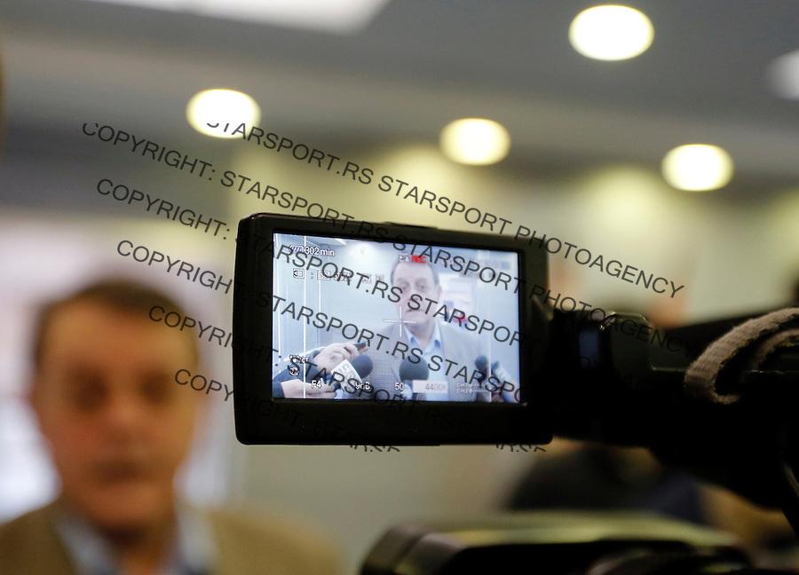 Fudbal Super liga season 2012-2013.FK Crvena Zvezda izbori za Predsednika kluba.Nebojsa Covic.Beograd, 17.12.2012..foto: Srdjan Stevanovic/Starsportphoto ©