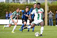 GRONINGEN - Voetbal, FC Groningen O23 - ACV, derde divisie, seizoen 2017-2018, 16-09-2017, /go49 benut strafschop voor 3-0