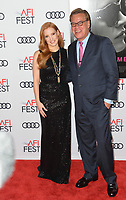Jessica Chastain &amp; Aaron Sorkin at the AFI Fest 2017 Closing Night premiere of &quot;Molly's Game&quot; at the TCL Chinese Theatre, Los Angeles 16 Nov. 2017<br /> Picture: Paul Smith/Featureflash/SilverHub 0208 004 5359 sales@silverhubmedia.com