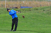 Marcus Kinhult (SWE) on the 13th fairway during Round 4 of the Amundi Open de France 2019 at Le Golf National, Versailles, France 20/10/2019.<br /> Picture Thos Caffrey / Golffile.ie<br /> <br /> All photo usage must carry mandatory copyright credit (© Golffile | Thos Caffrey)
