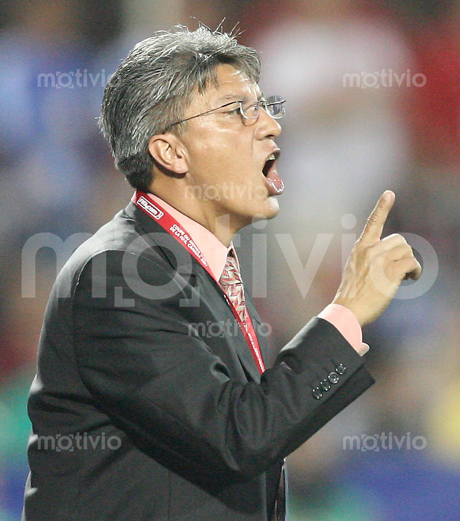 Fussball International U 20 WM  Mexico - Portugal Trainer Jesus RAMIREZ (MEX)  .