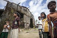 ROHINGYA REFUGEES CAMPS IN SITTWE - BURMA